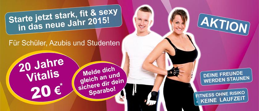 Starte jetzt stark, fit und sexy in das neue Jahr!